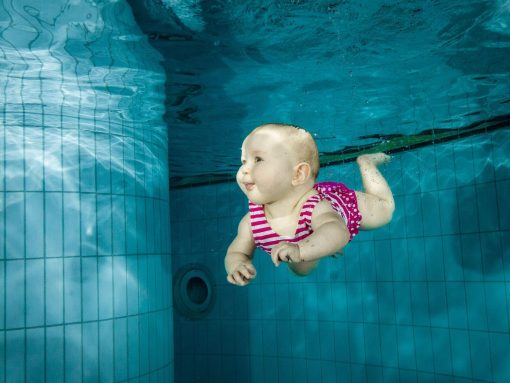 Svømning baby