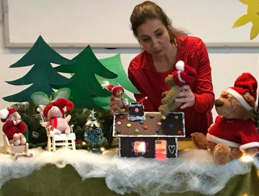 Juleteater i Børneboblen @ Børneboblen