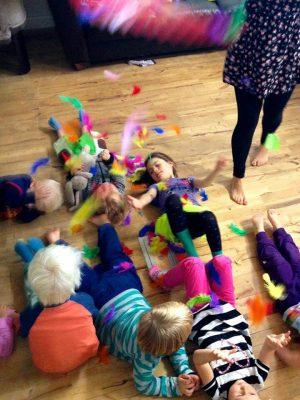 Børnerytmik 1-2 årige @ Børneboblen